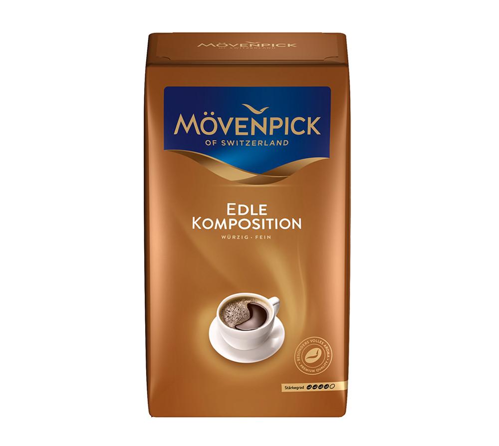 Кофе молотый, заварной MovenpickMövenpick Edle Komposition (Мовенпик) 500 г. Германия