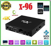 X96 Android 6.0 TV Box Amlogic S905X  2  / 16 ГБ  Quad Core WI-FI HDMI 4 К  HD Smart, фото 1
