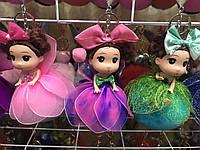 Меховой Брелок Кукла на Шаре