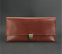 Кошелек кожаный для документов дорожный кейс коньяк (ручная работа), фото 1
