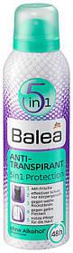 Дезодорант - антиперспирант Balea 5в1 защита 200мл