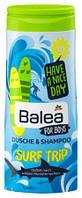 Гель для душа + шампунь Balea Surf Trip для мальчиков 300мл