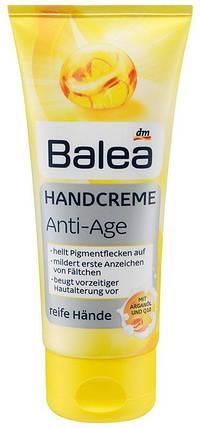 Крем для рук Balea с маслом арганы и Q10 антивозрастной 100мл, фото 2
