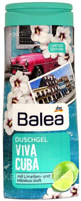 Гель для душа Balea Viva Cuba с ароматом лайма и гибискуса 300мл