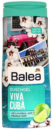 Гель для душа Balea Viva Cuba с ароматом лайма и гибискуса 300мл, фото 2