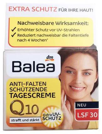 Крем для лица Balea Q10 дневной против морщин LSF 30 50мл , фото 2