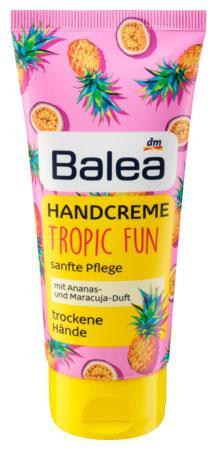 Крем для рук Balea Tropic fun с ароматом ананаса и маракуи 100мл