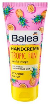 Крем для рук Balea Tropic fun с ароматом ананаса и маракуи 100мл, фото 2