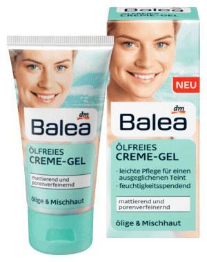 Крем-гель для лица матирующий Balea без масел для жирной и комбинированной кожи 50мл