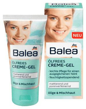 Крем-гель для лица матирующий Balea без масел для жирной и комбинированной кожи 50мл, фото 2