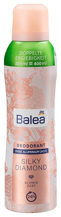 Дезодорант Balea Silky Diamond 200мл