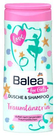 Гель для душа + шампунь Balea Traumtänzerin для девочек 300мл