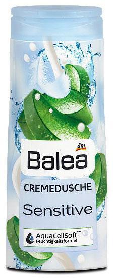 Крем-гель для душа Balea Sensitive для чувствительной кожи 300мл