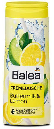 Крем-гель для душа Balea пахта и лимон 300мл, фото 2