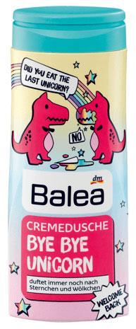 Крем-Гель для душа Balea Bye Bye Unicorn 300мл