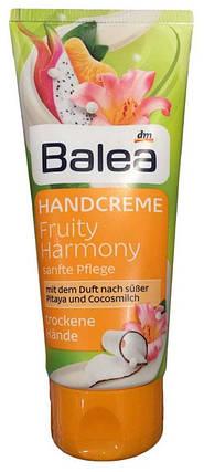 Крем для рук Balea Fruity Harmony с ароматом питайи и кокосовым молочком 100мл, фото 2