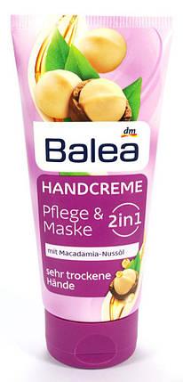 Крем для рук Balea 2в1 уход+маска для сухой кожи 100мл, фото 2