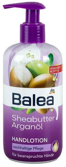 Лосьон для рук Balea с маслом ши и аргановым маслом 300мл