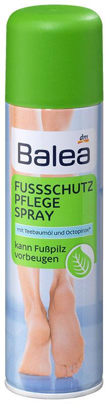 Спрей для ног Balea с маслом чайного дерева и октопироксом 200мл
