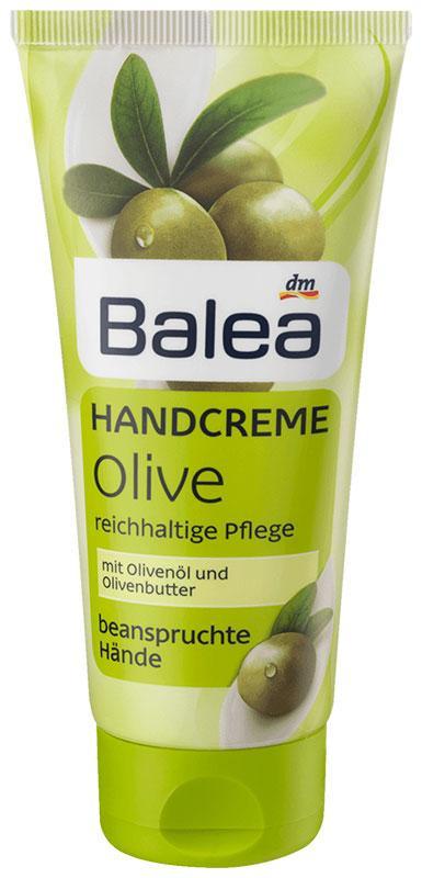 Крем для рук Balea с экстрактом оливок 100мл