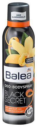 Деоспрей Balea Black Secret 200мл, фото 2