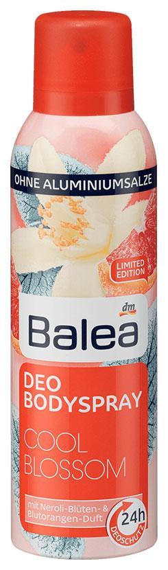 Деоспрей Balea Cool blossom 200мл