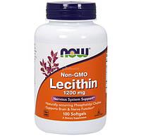 Лецитин Now Foods США 100 капсул по 1200мг