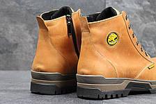 Мужские зимние ботинки Timberland темно коричневые 40,41,42р, фото 3