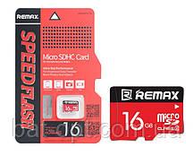 Карта п. REMAX COPY microSD 16 GB card Class 10