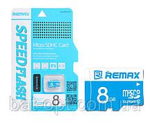 Карта п. REMAX COPY microSD 8 GB card Class 10