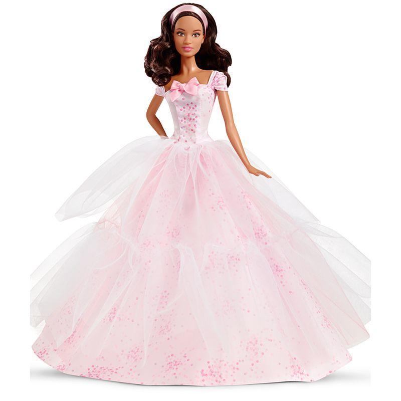 Кукла Барби Barbie коллекционная Особый День рождения Barbie Birthday Wishes 2016 Barbie Doll Dark Brunette