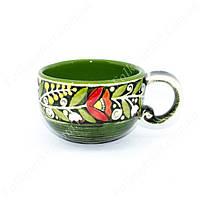 Чашка керамическая с орнаментом 300 мл
