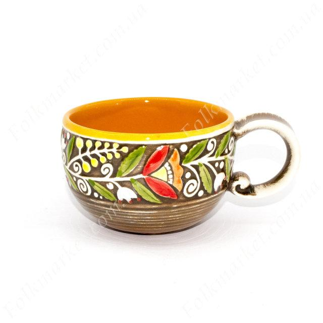 Чашка с украинским орнаментом 300 мл