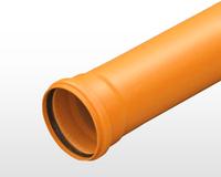 Труба для наружной канализации из ПВХ SN4