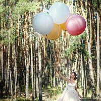 Букет невесты из шаров-гигантов