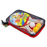 Набор для настольного тенниса 2 ракетки, 3 мяча с чехлом Macical MT-809