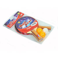 Набор для настольного тенниса 2 ракетка, 3 мяча Boli Star MT-9002