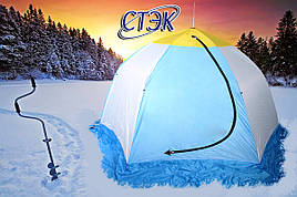 Дышащяя палатка на зиму Стэк 4 (300*210см)