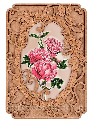 Набор для вышивки бисером с фигурной рамкой FLG-038, фото 2