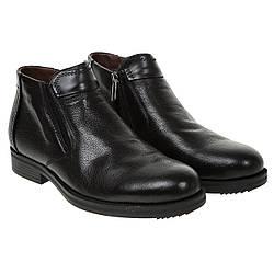Ботинки мужские Вasconi(кожаные, удобные, с двумя замками)