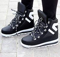 Женские зимние кроссовки-ботинки с мехом, ботинки кроссовки женские