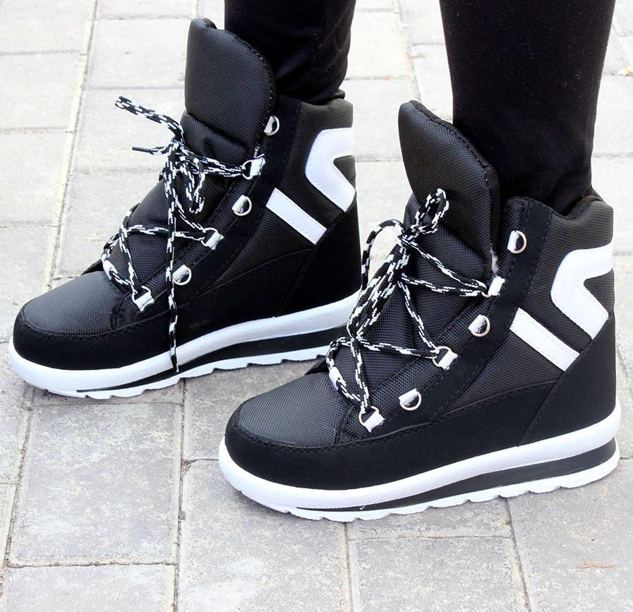 5e06d971 Женские зимние кроссовки-ботинки с мехом, ботинки кроссовки женские -  Интернет-магазин обуви