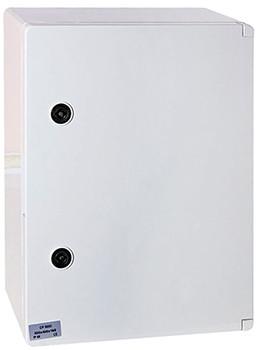 Шкаф ударопрочный из АБС-пластика e.plbox.300.400.165.1f.15m.blank, 300х400х165 мм, IP65 с панелью