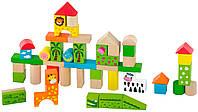 Набор строительных блоков Viga Toys Зоопарк 50 шт (50286)