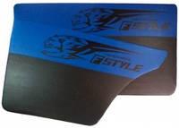 Карта двери ВАЗ 2101-07 синяя Fstyle maxi (4шт) 14305