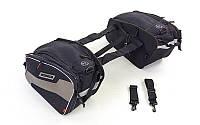 Мотосумка (2 кофра текстильных) SCOYCO MB15-2 (PL, р-р 30х41х25см, черный)