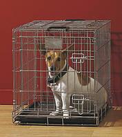 Savic ДОГ РЕЗИДЕНС (Dog Residence) клетка для собак, цинк , 50Х33Х40 см. см.