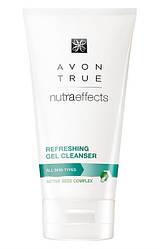 Очищаючий Гель для обличчя Avon True Nutra Effects, Gel Cleanser, Ейвон Тру Нутра ефект, 150 мл, 23587