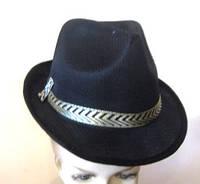 Шляпа Мужская в сеточку черная