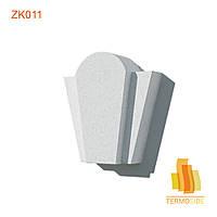 ЗАМКОВЫЙ КАМЕНЬ ZK011, размеры: 290 x 250 x 90 мм